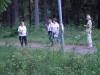 Brita, Kjäll, Ingela och Kristina på tipsrundan.